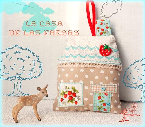 La casita de las fresas