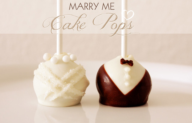 Heavenly Wedding Cake Pops