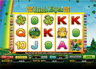 Irish Eyes Slot Machine