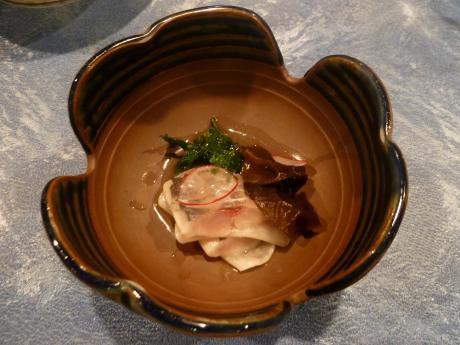 トスラブ箱根 和奏林 料理 酢の物