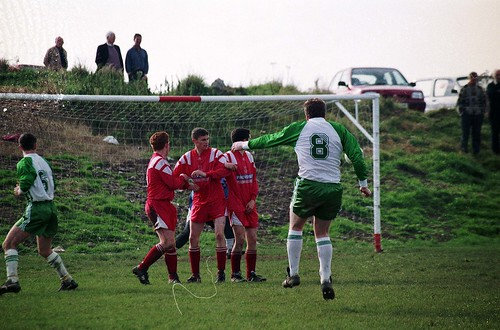 Ballincollig goal Oct 94 R214001 by CorkBilly