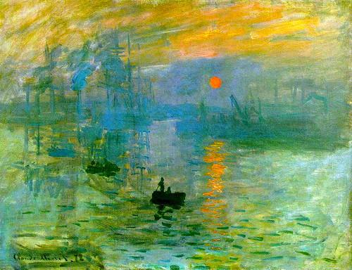 Monet Impression Soleil Levant