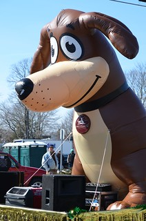 Giant Inflatable Dog