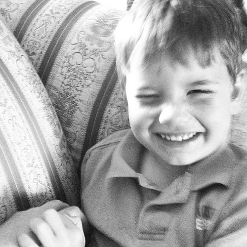 Tickles and laughter. #aprilphoto366
