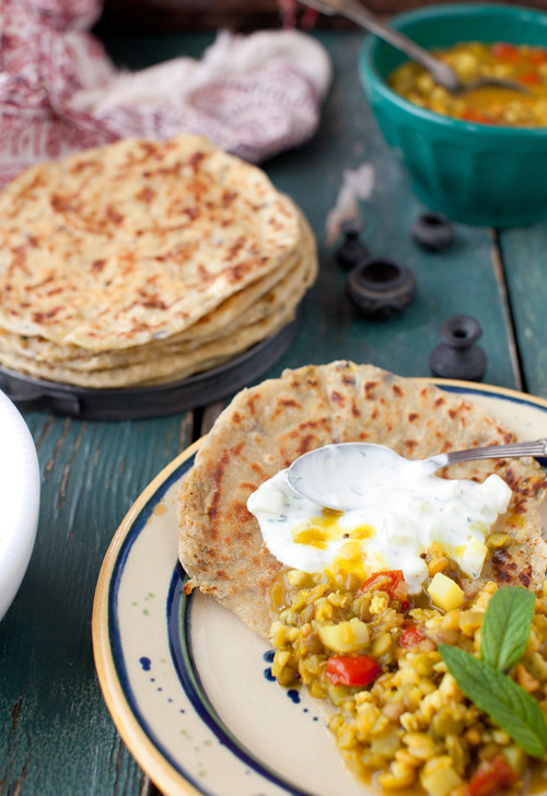 Lentils and Chapattis 5