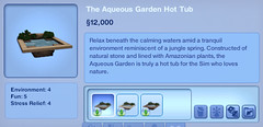 The Aqueous Garden Hot Tub