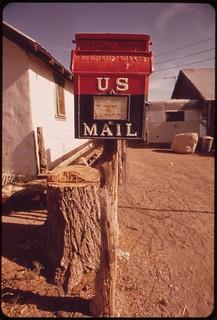 Post office at Alamo, May 1972