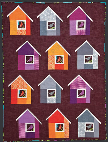 Image from Modern Patchwork by Elizabeth Hartman