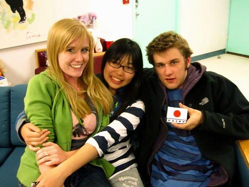 Aaron, Akiko, and I