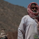 Bedouin Man and Camel - Hurghada, Egypt