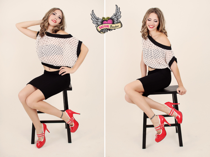 Boudoir Pinup Girl Photography // Jacksonville, Orlando, Miami, Tallahassee, Gainesville, Daytona Pin-up Photographer