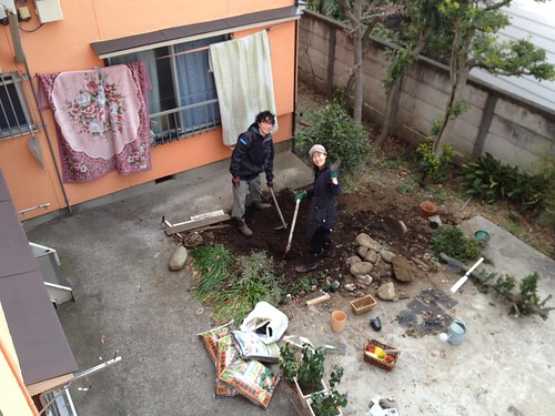 Making a garden with owner 2