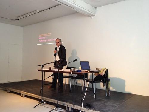 Trevor Davies opening the Metropolis Lab 2012