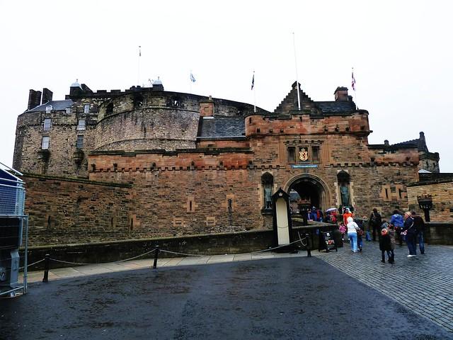 Entrance, Edinburgh Castle