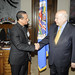 Secretary General Receives Bishop from El Salvador