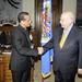 Secretary General Receives Bishop from El Salvador
