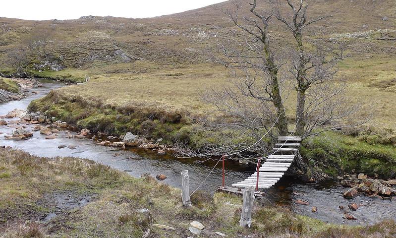 Bridge crossing near the Pollan Buidhe