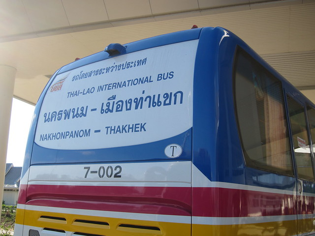 Nakhonpanom Thailand  City new picture : Thai Laos Bus from Nakhonpanom Thakhek | Flickr Photo Sharing!