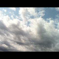 【写真】もう一枚、今朝の空。 #雲