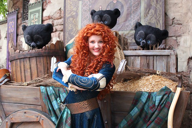 merida meet and greet wdw