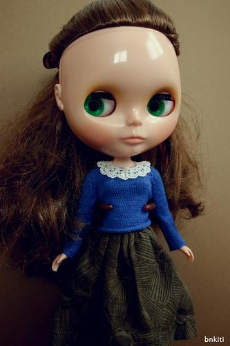 mini collar for 1/6th doll