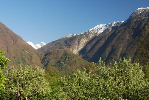 park mountains alps julian slovenia national peaks triglav primorska bovec