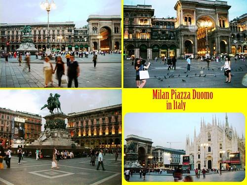 Milan Piazza Duomo A