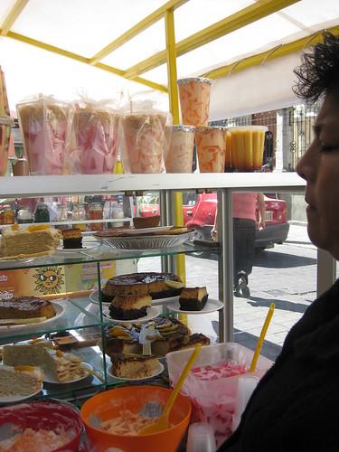 Fresh food at the market, Oaxaca, Mexico