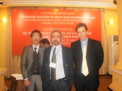 VEDICO phien dich cho Tu Van - Phap: Mr Tho, Mr Eric, Mr Etienne de (tham Tan thu nhat - DS Quan Phap tai Ha Noi