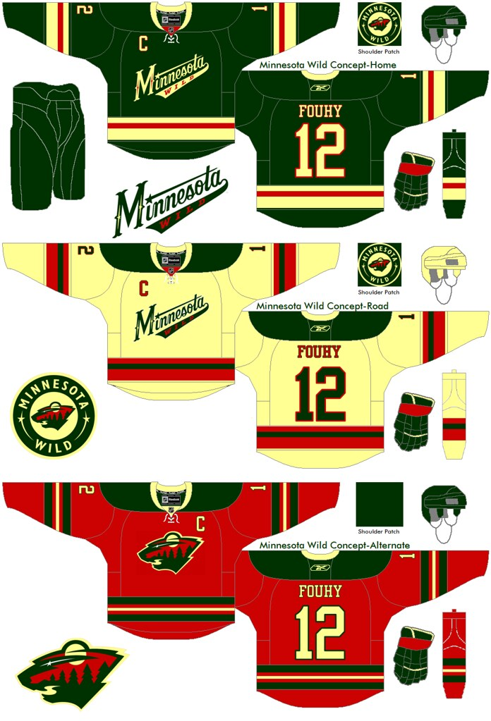 Minnesota Wild concept - Concepts - Chris Creamer s Sports Logos ... 9b1001db7