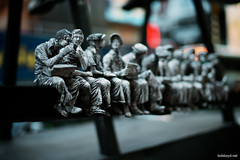 NYC History in pewter...