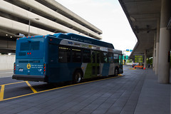 RCF Bus at the South Terminal Stop
