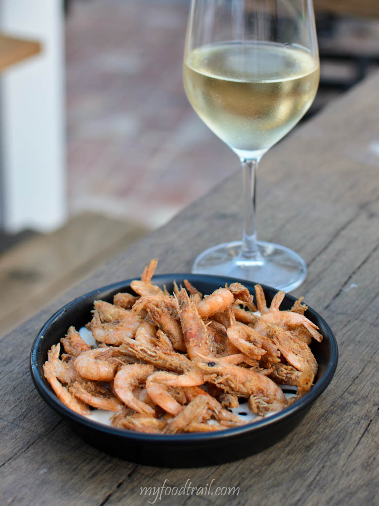 South Wharf - Boatbuilder's Yard - School prawns