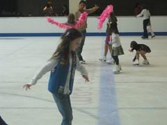 Meg on Ice