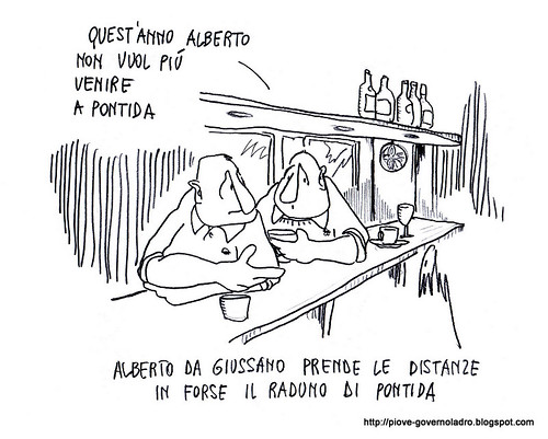 Pontida è in forse by Livio Bonino