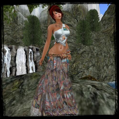 Paris Metro Couture: Artist Series Vasiliki Kappa Outfit (free) by Cherokeeh Asteria