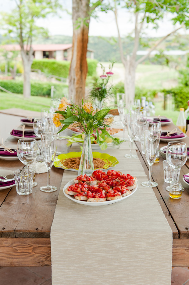 Tuscan Wedding Picnic