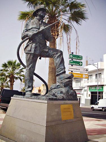 Bombero, Adeje, Tenerife