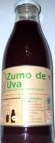 Zumo de uva ecológico by La frutería de Luis