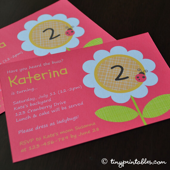 Birthday Party Invitations Samples Letters