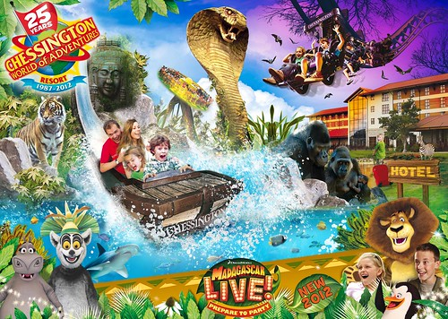 Madagascar Live! Prepare to Party (c) 2012 DreamWorks Animation L.L.C