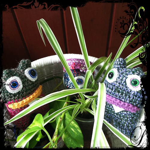 monster party in the plants!
