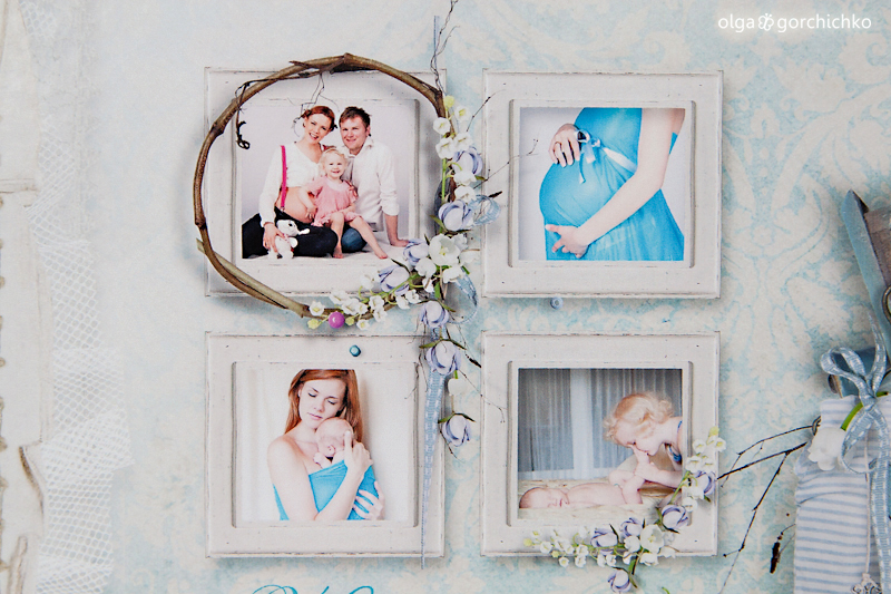 Фотокнига о беременности и новорожденном Арсюше