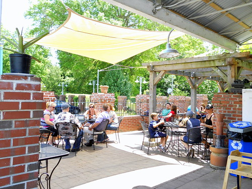 Patio at the Saxapahaw General Store