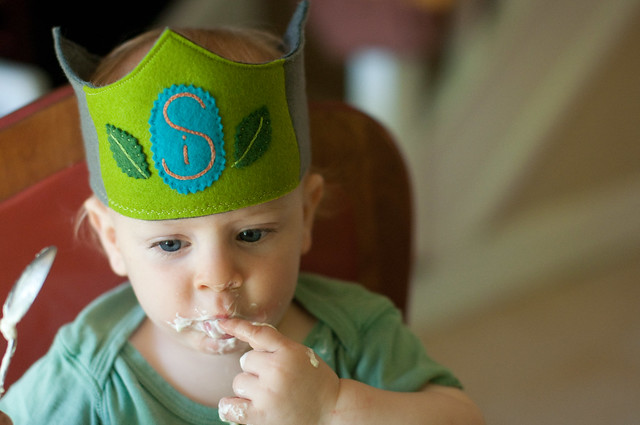 Silas' first birthday