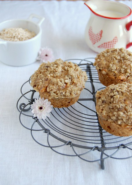 Carrot muffins (with spelt flour)