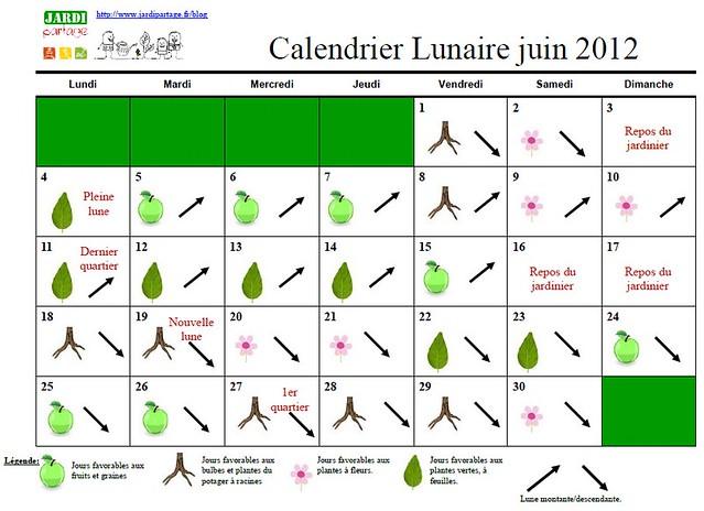 calendrier lunaire du jardinage juin 2012 flickr photo sharing. Black Bedroom Furniture Sets. Home Design Ideas