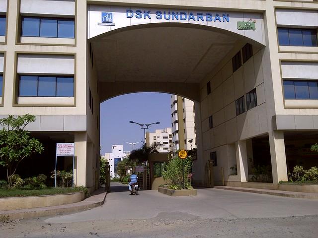 Main Entrance of DSK Sundarban, Tupe Patil Road, Sade-Satara-Nali (Sade-Satra-Nali) Gram Panchayat, Hadapsar, Pune 411028