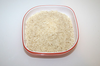 07 - Zutat Basmatireis / Ingredient rice