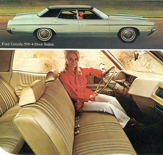 1971 Ford Galaxie 500 4 Door Sedan